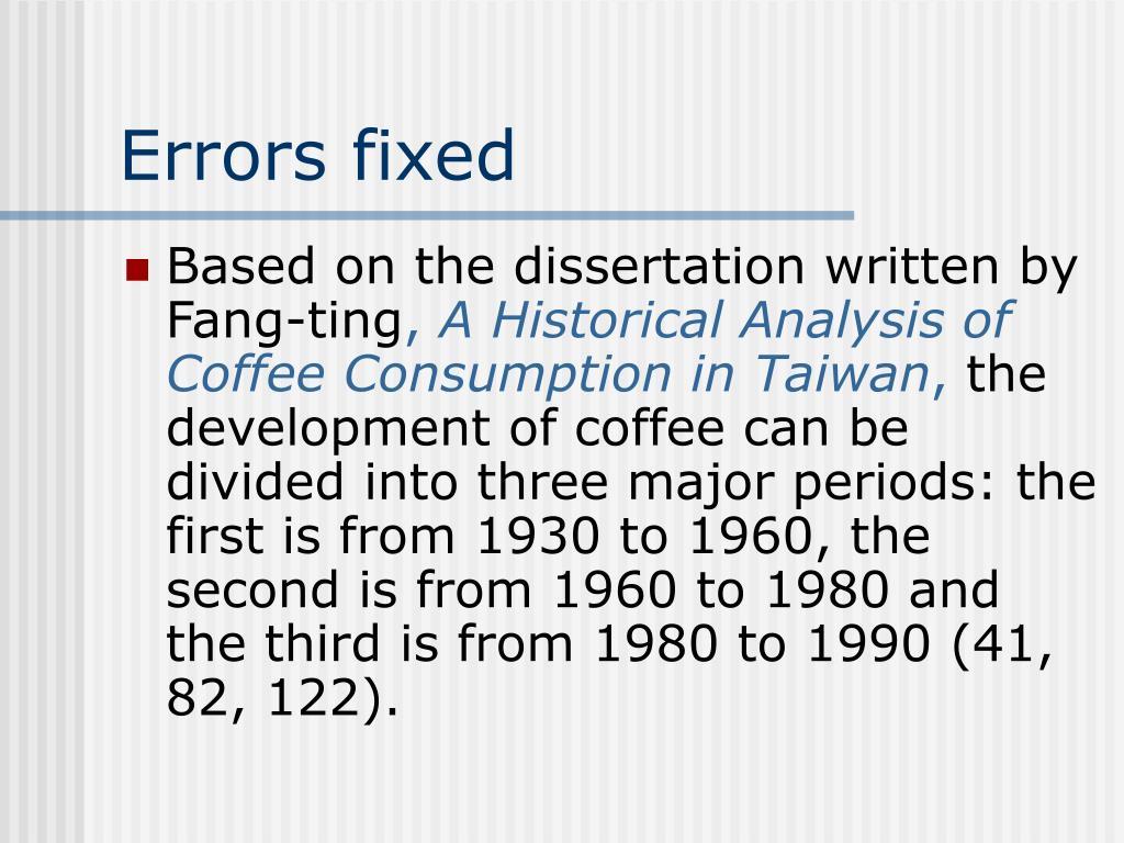 Errors fixed