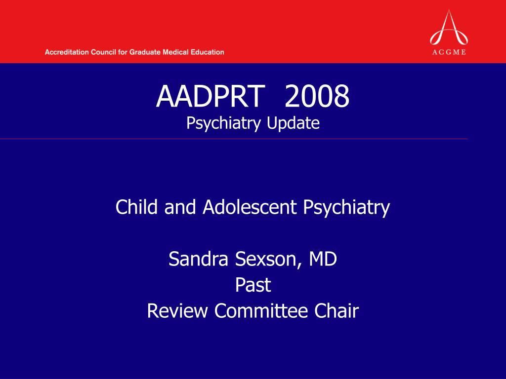 AADPRT  2008