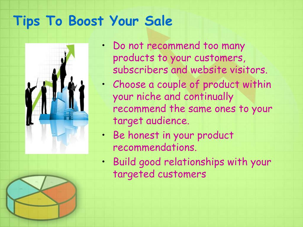 Tips To Boost Your Sale