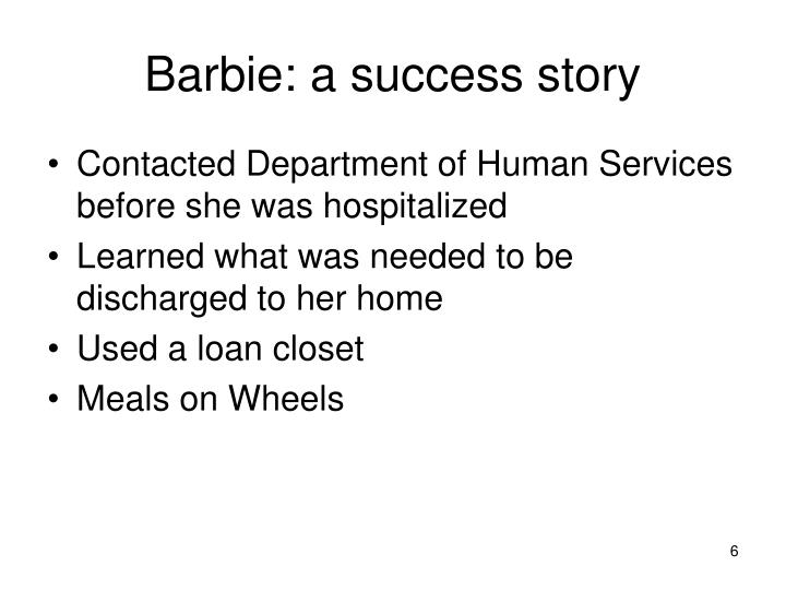 Barbie: a success story