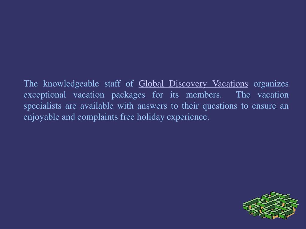 The knowledgeable staff of