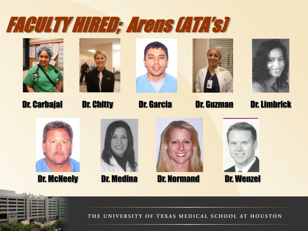 FACULTY HIRED;