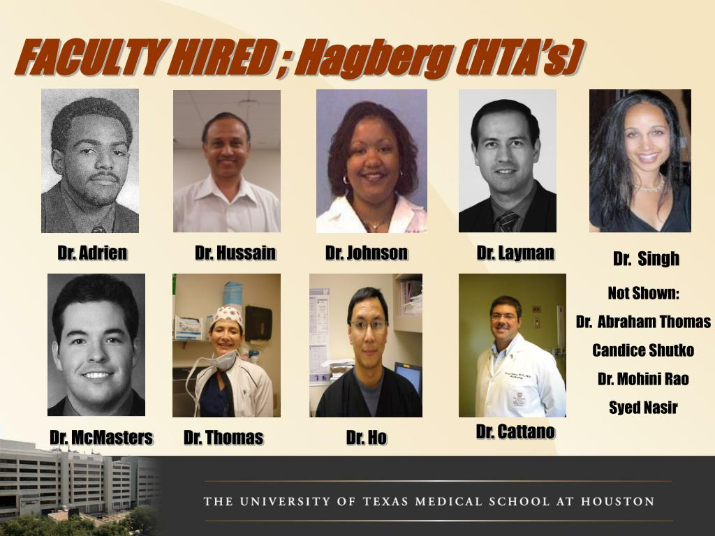 FACULTY HIRED ;