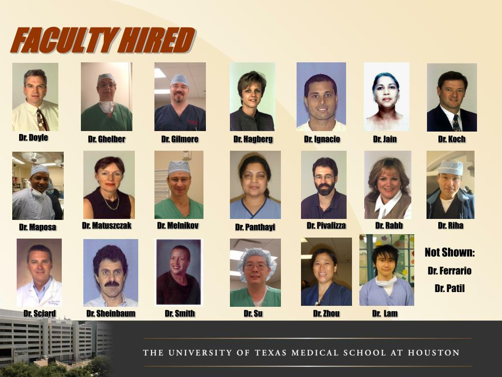 FACULTY HIRED