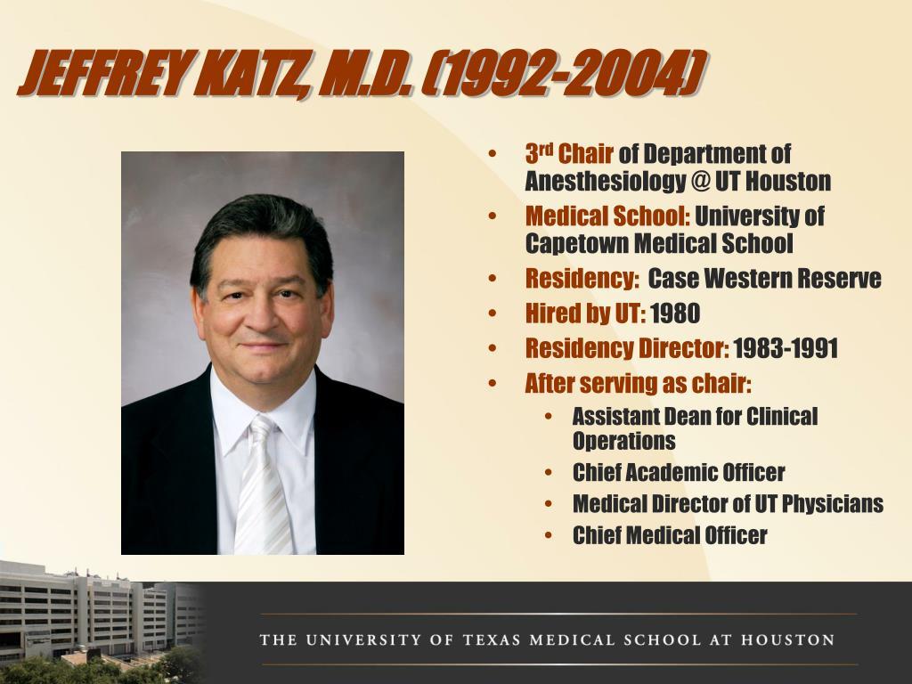 JEFFREY KATZ, M.D. (1992-2004)