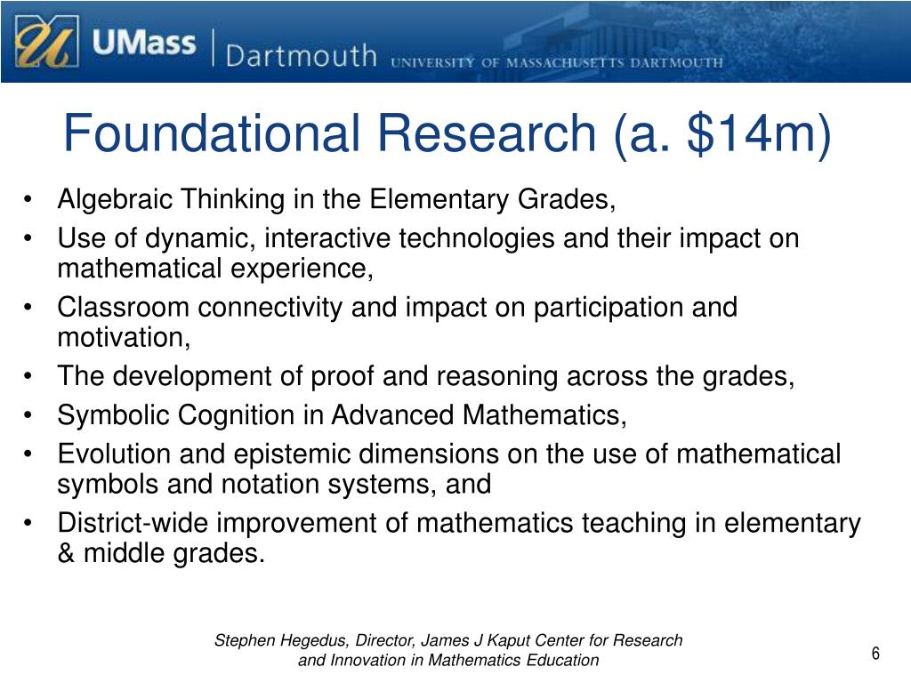 Foundational Research (a. $14m)