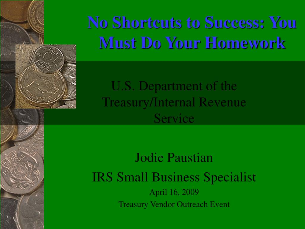 Department of the Treasury INTERNAL REVENUE SERVICE