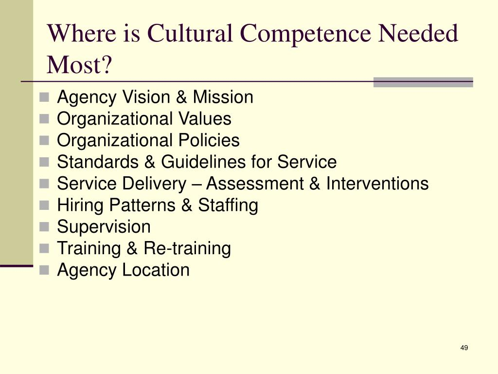 cultural competence in nursing essay
