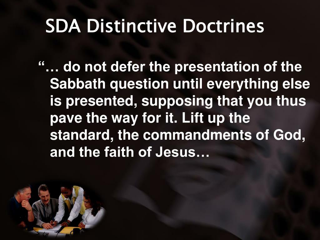 SDA Distinctive Doctrines