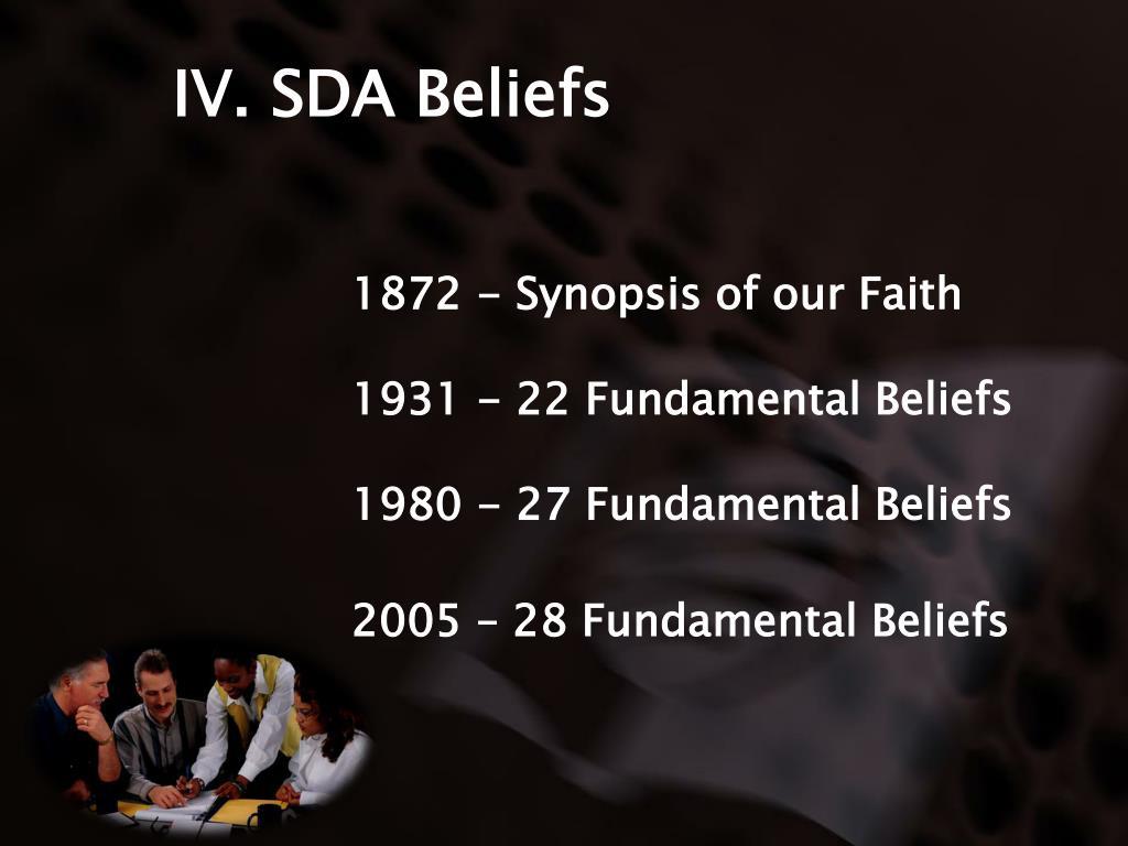 IV. SDA Beliefs