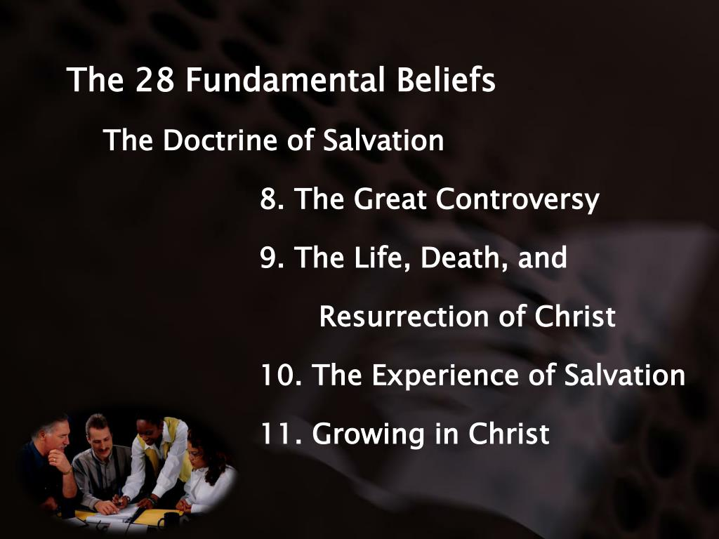 The 28 Fundamental Beliefs