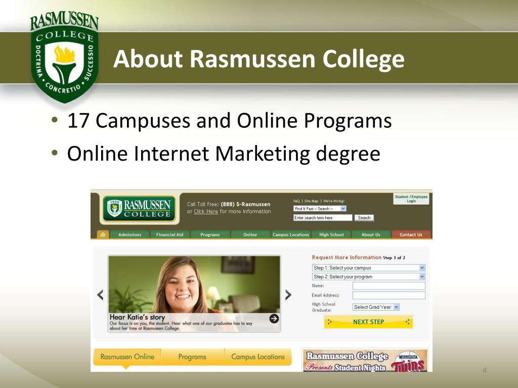 About Rasmussen College