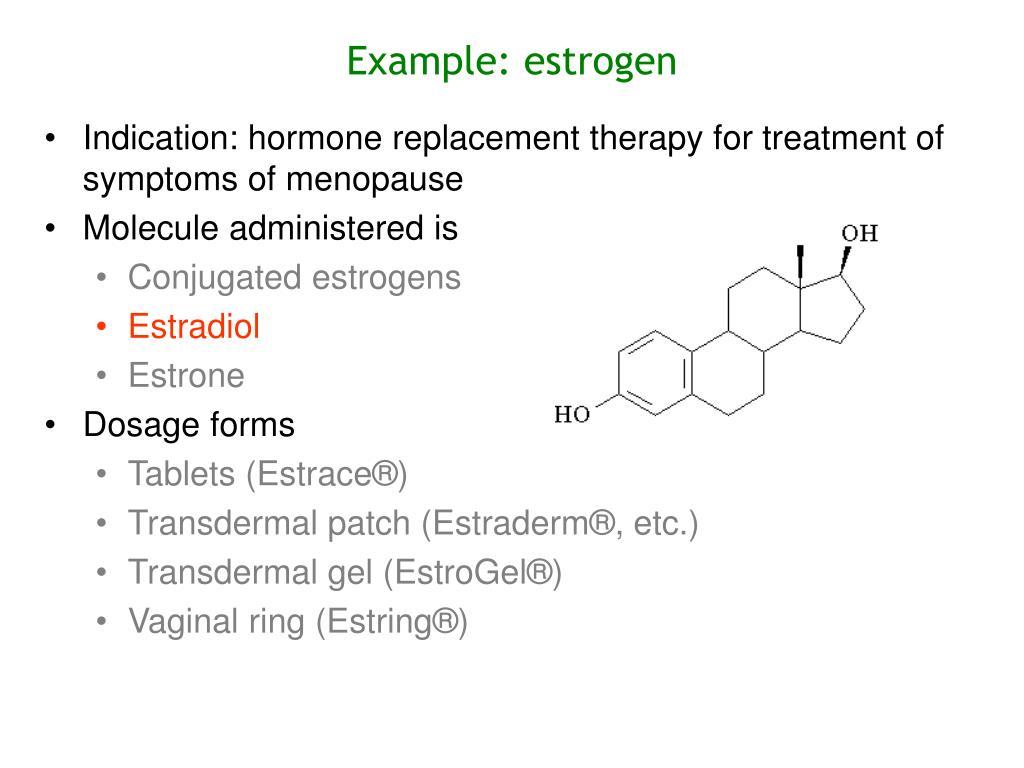 Example: estrogen