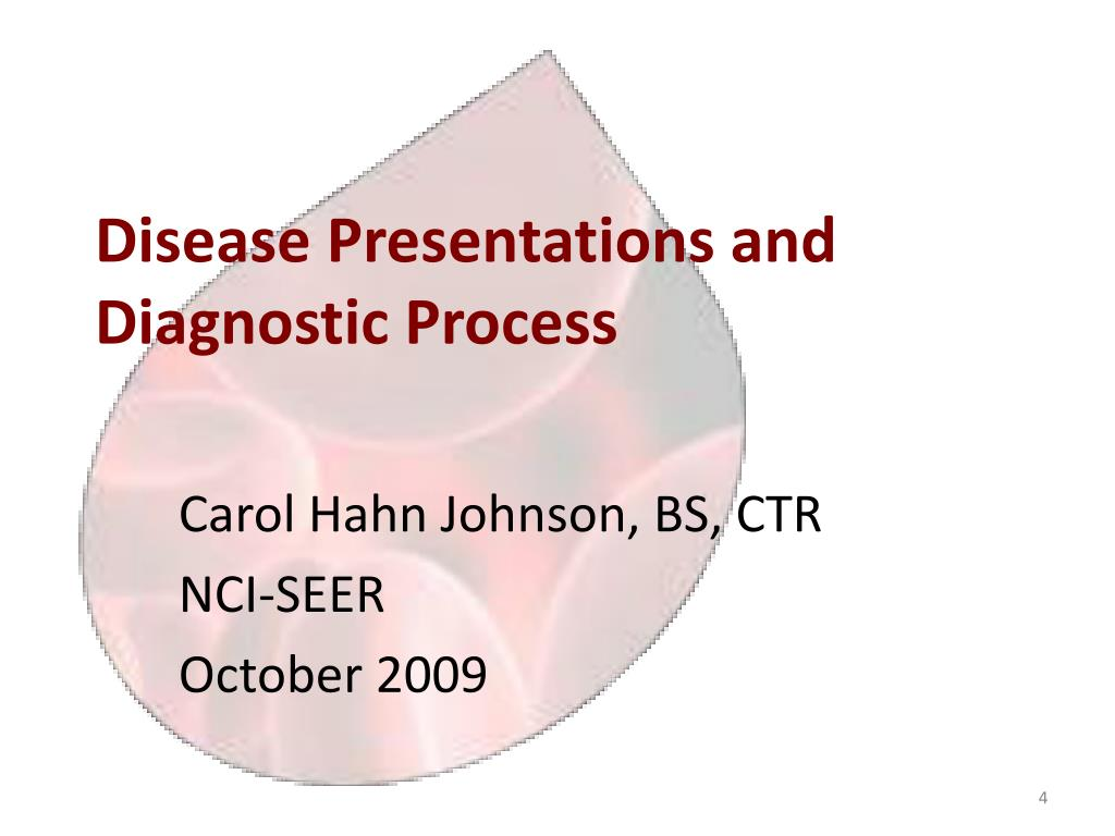 Disease Presentations and