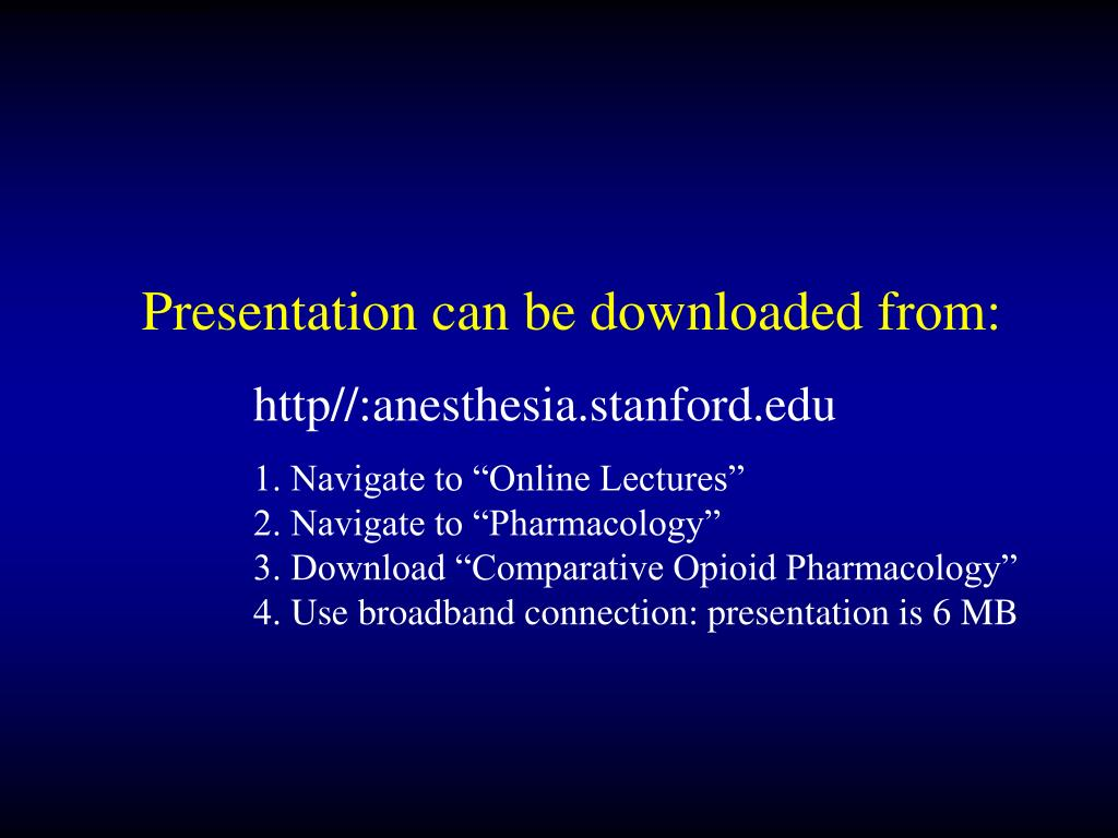 Presentation can be downloaded from: