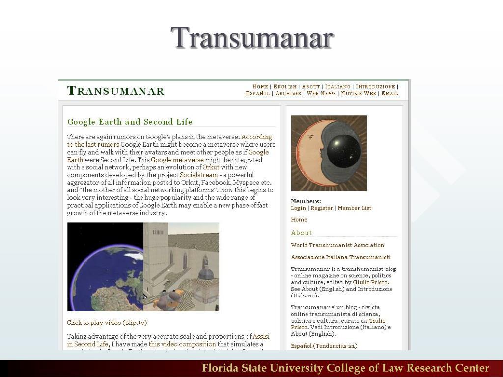 Transumanar