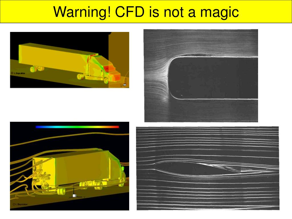 Warning! CFD is not a magic