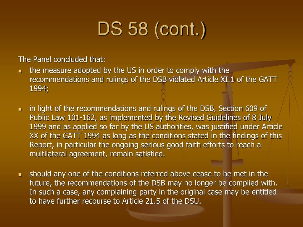 DS 58 (cont.)