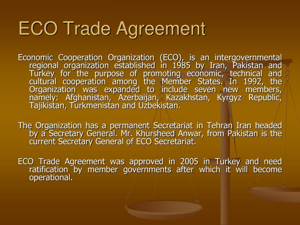 ECO Trade Agreement