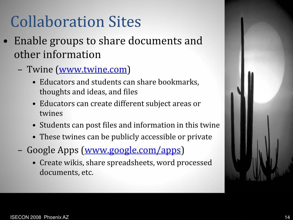 Collaboration Sites