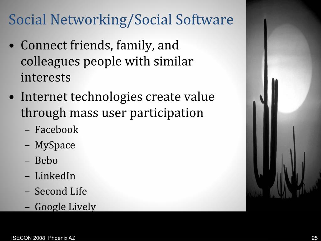 Social Networking/Social Software