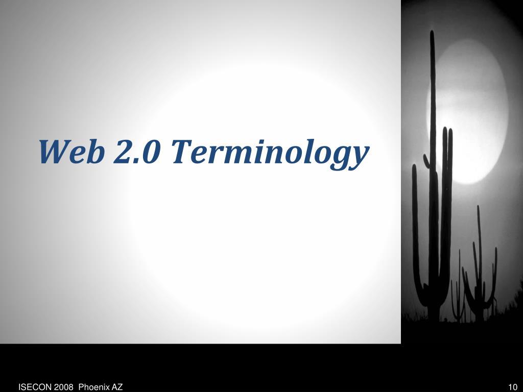 Web 2.0 Terminology