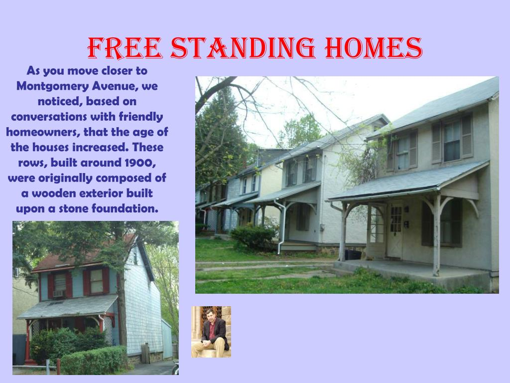 Free Standing Homes