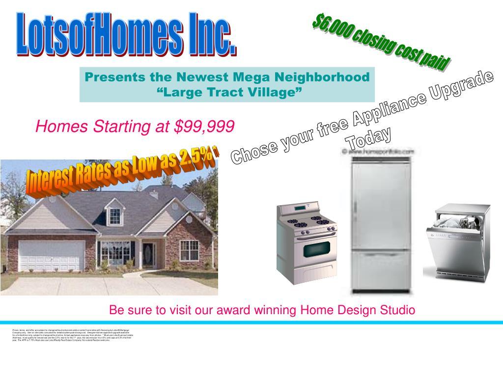 LotsofHomes Inc.