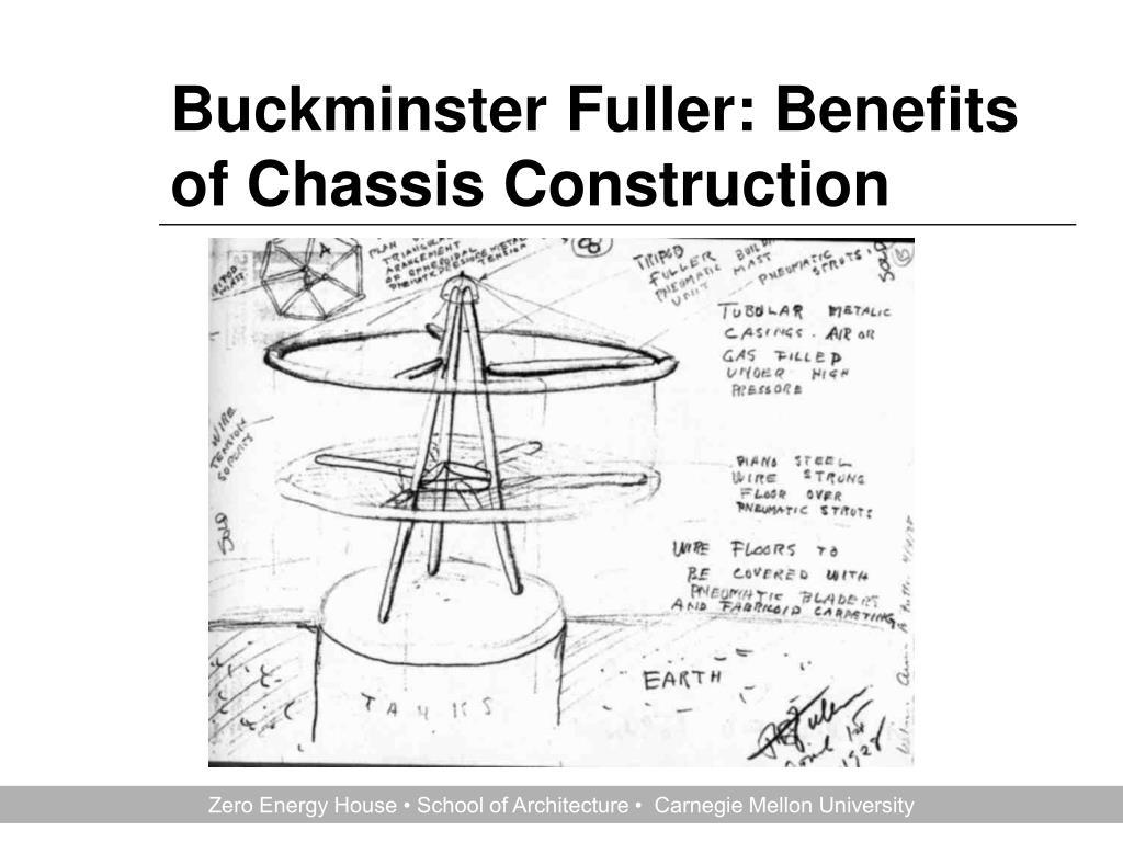Buckminster Fuller: Benefits of Chassis Construction