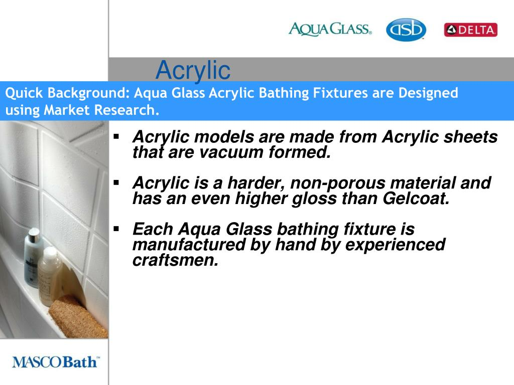 Acrylic models are made from Acrylic sheets that are vacuum formed.