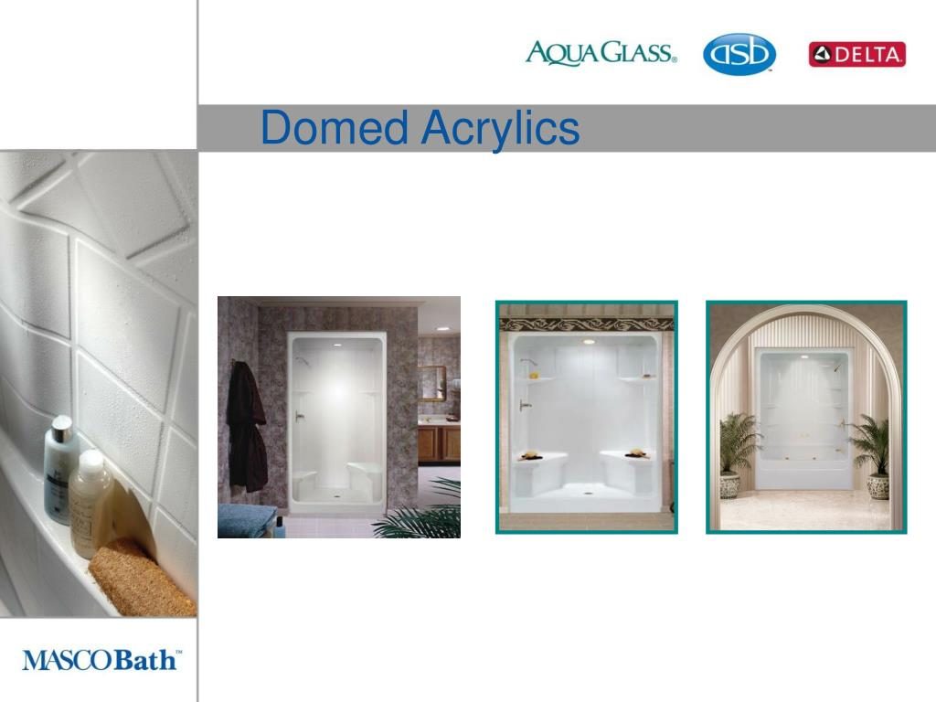 Domed Acrylics
