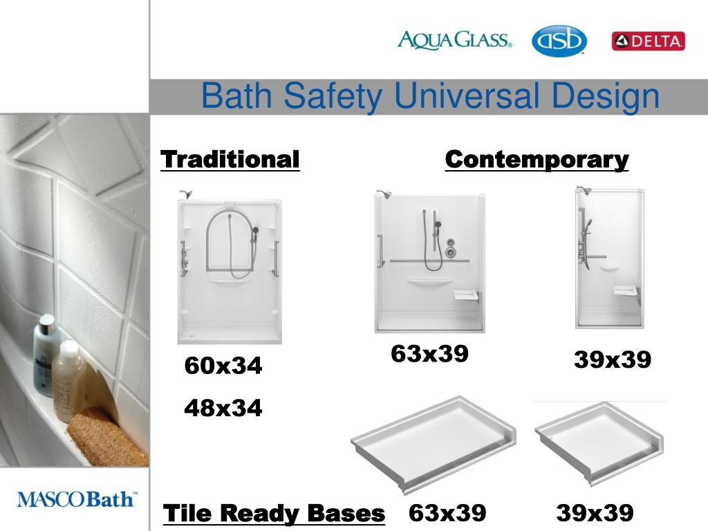 Bath Safety Universal Design