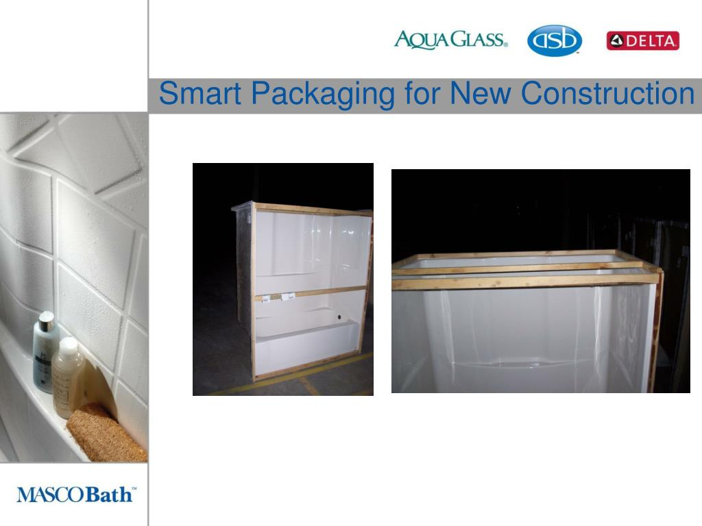 Smart Packaging for New Construction