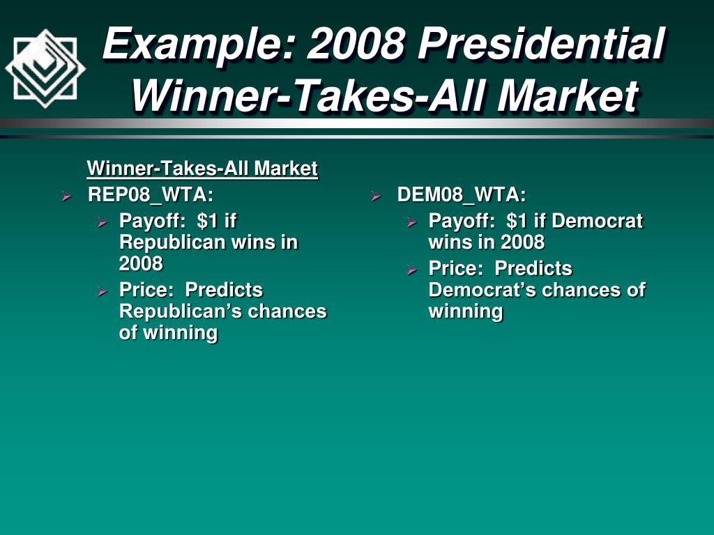 Winner-Takes-All Market