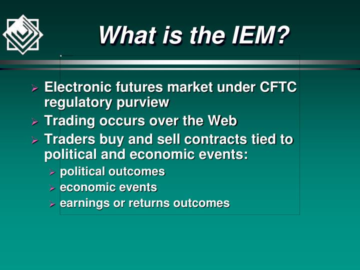 What is the iem