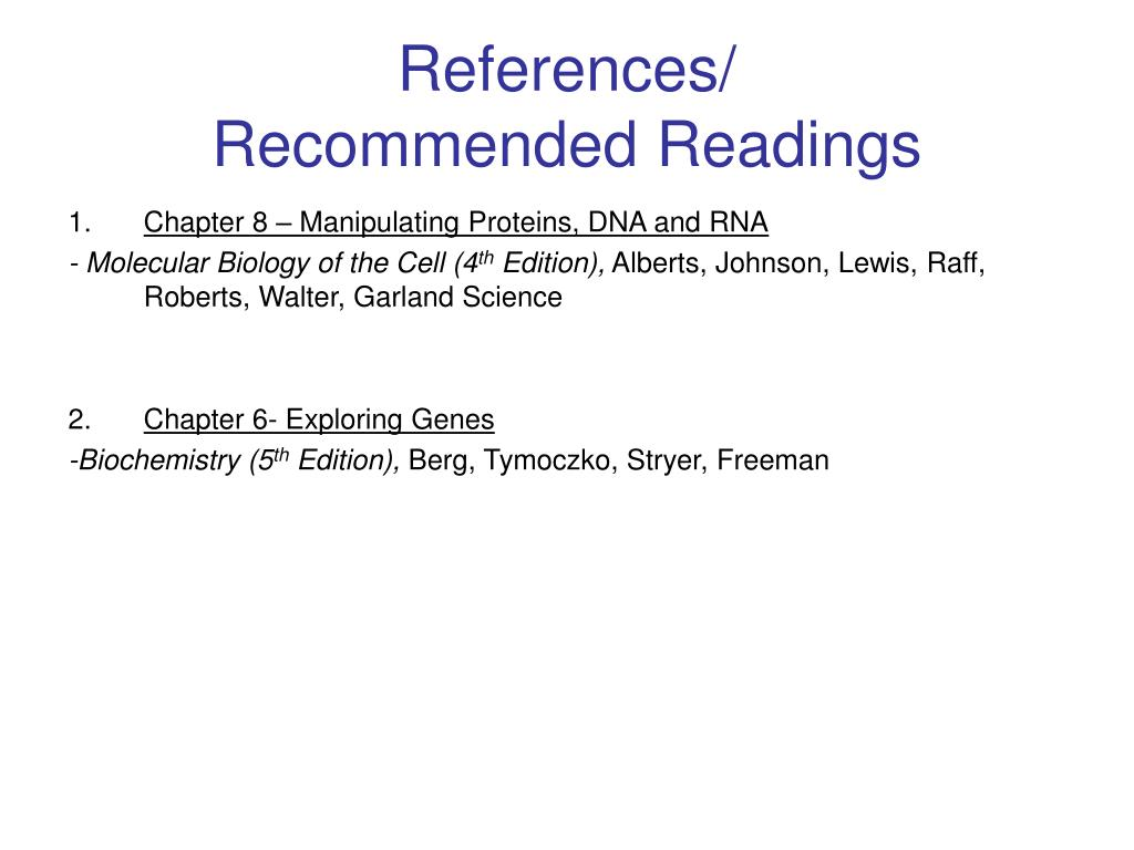 References/