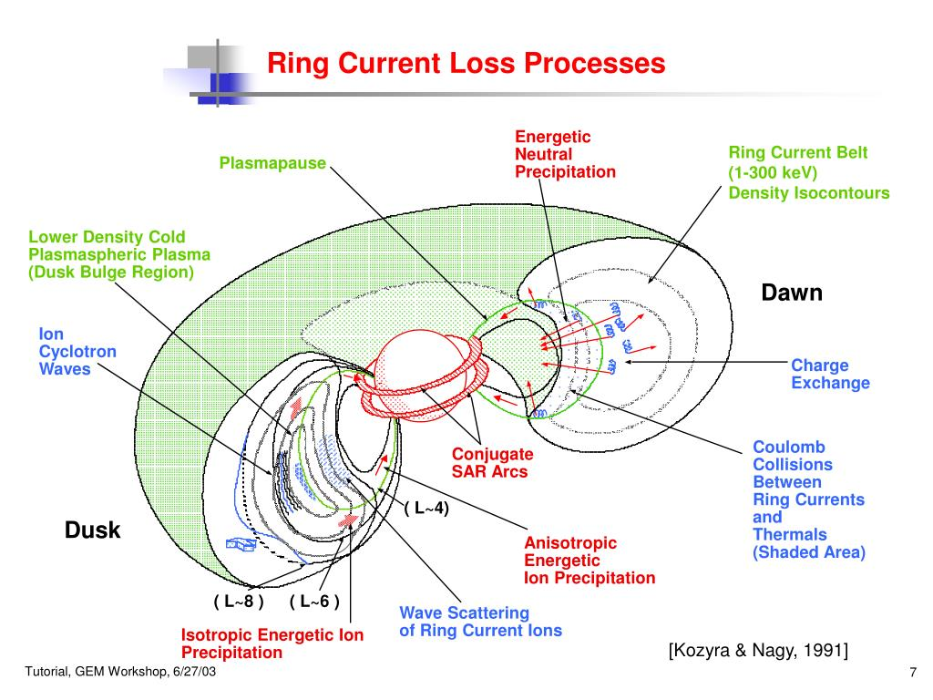 Ring Current Loss Processes