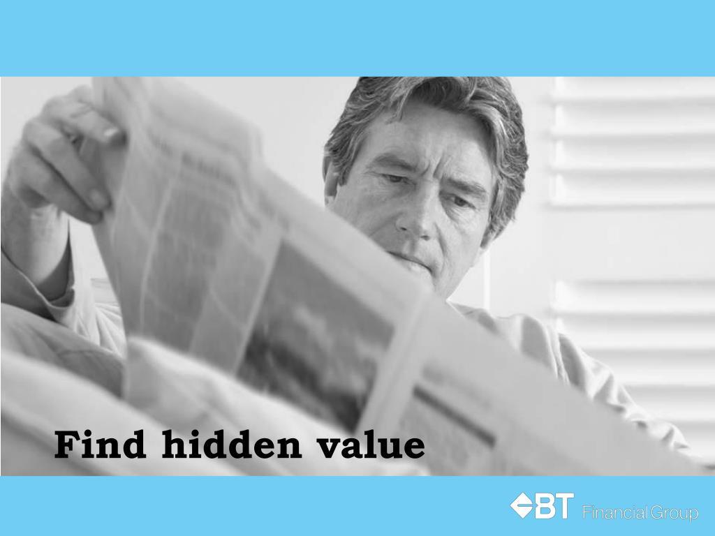 Find hidden value