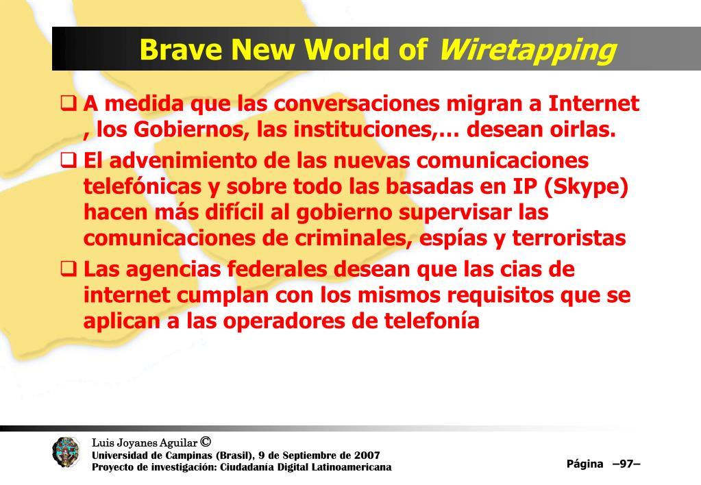 Brave New World of
