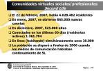 comunidades virtuales sociales profesionales second life79