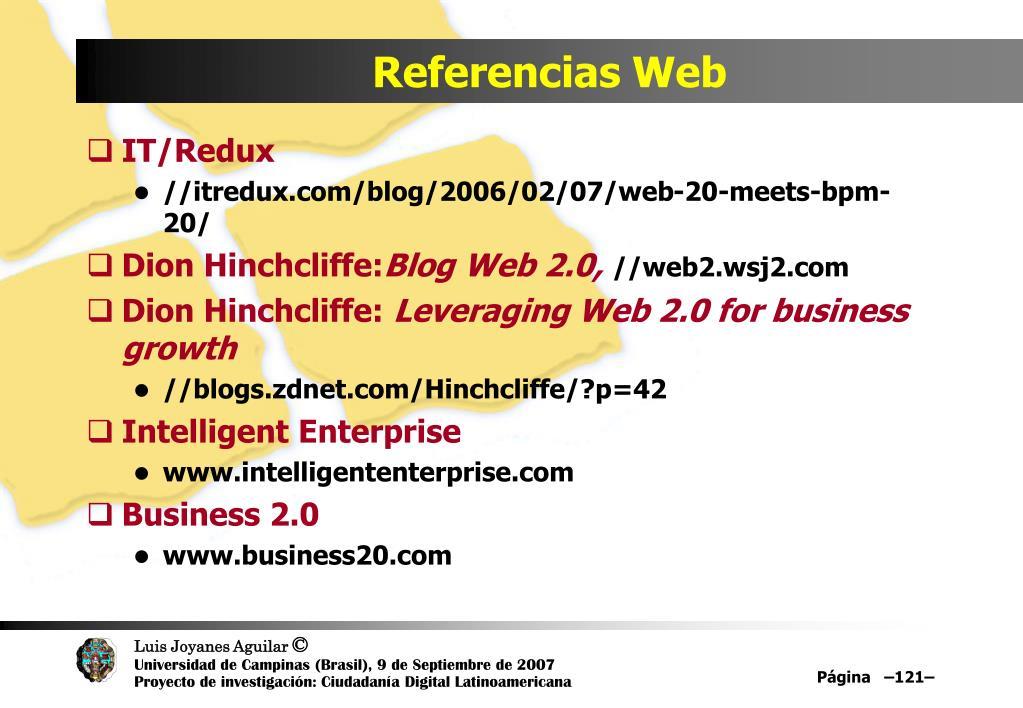 Referencias Web