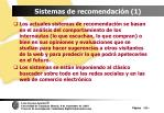 sistemas de recomendaci n 1