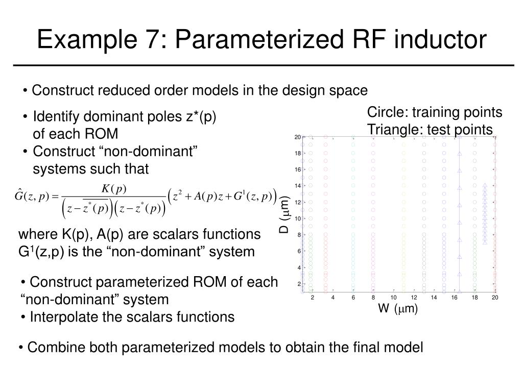 Example 7: Parameterized RF inductor