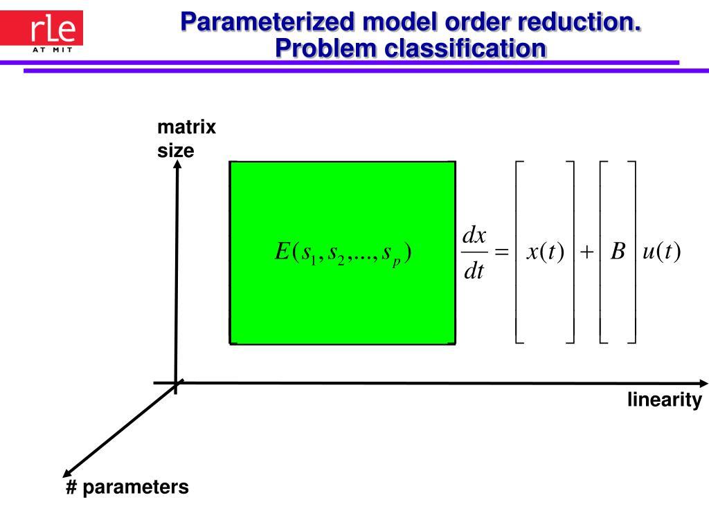 matrix size