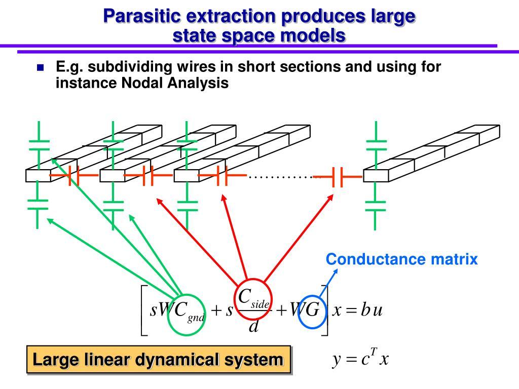 Conductance matrix