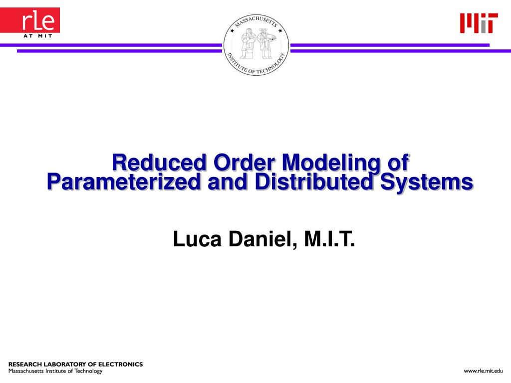 Reduced Order Modeling of Parameterized and Distributed Systems