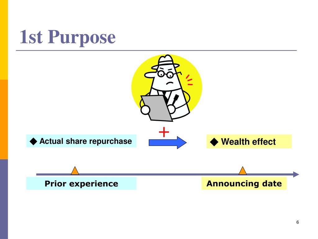 1st Purpose