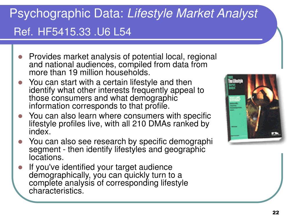Psychographic Data:
