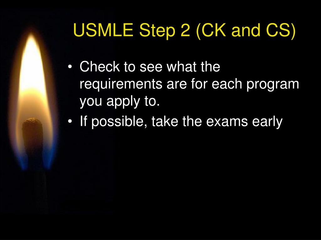 USMLE Step 2 (CK and CS)
