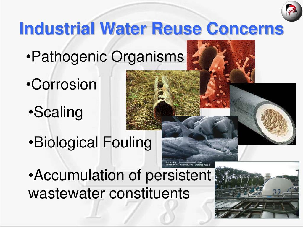 Industrial Water Reuse Concerns